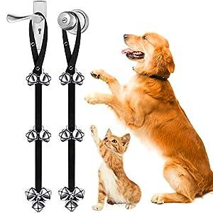 Dog Bark Collar, No Barking Shock Collar Anti Bark Rechargeable Dog Training Collar with Beep Vibration and Shock, 9…
