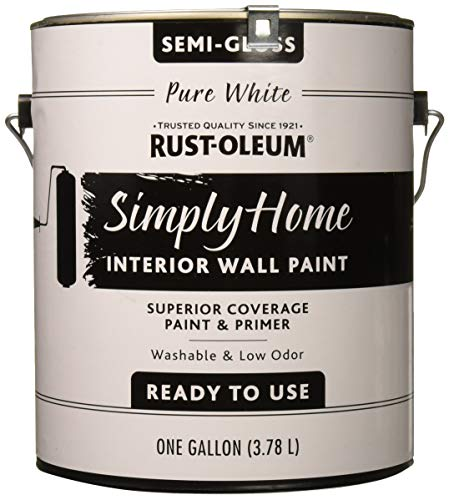 Rust-Oleum Simply Home Interior Wall Paint 332120 Simply Home Semigloss