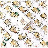 45pcs / Pack Scrapbooking Pegatinas Encantador Shiba Inu Memo Stickers Pack Publicó Publicación Kawaii Planner Papelería Escolar Escolar Suministros Escolares
