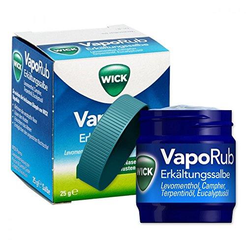 Wick VapoRub Erkältungssalbe, 25 g