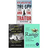 The Spy and the Traitor, The Splendid and the Vile, Range 3 Books Collection Set