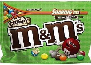 M&M's Crispy Chocolate Candies 8 oz (Pack of 3)