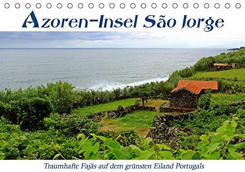 Azoren-Insel Sao Jorge – traumhafte Fajas (Tischkalender 2020 DIN A5 quer): Erlebe spektakuläre Wanderungen auf Höhenwegen und alten Saumpfaden ... (Monatskalender, 14 Seiten ) (CALVENDO Natur)