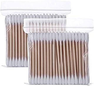 500 Pcs Coton-tige Jetable Double T/ête Maquillage Fournitures Oreille Nettoyage /Écouvillon Maquillage Coton-/écouvillon Pour Hommes Dames Femmes Filles
