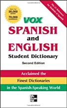 Vox Spanish and English Student Dictionary PB, 2nd Edition (Vox Dictionaries)