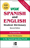 Vox Spanish and English Student Dictionary (Vox Dictionaries)