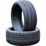 Set of 2 (TWO) Fullway HP108 All-Season High Performance Radial Tires-245/45R20 245/45ZR20 245/45/20 245/45-20 103W Load Range XL 4-Ply BSW Black Side Wall