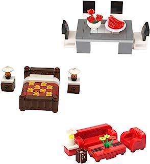 General Jim's Building Blocks Toy Bricks House Furniture...