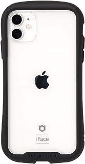 iFace Reflection iPhone 11 ケース クリア 強化ガラス [ブラック]