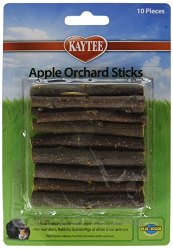 KAYTEE Apple Orchard Sticks - (5 Packages with 10 per Package)