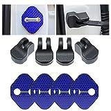 【Maidao】適合多数 ホンダ Honda 汎用 ドア ロック ストライカー カバー Bタイプ+青色 高輝度 反射テープ/ドアー ストッパー カバー 4枚 S660 RB RC オデッセイ RG RK ステップワゴン等