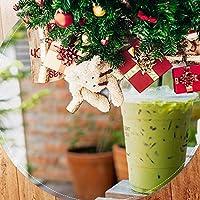 ツリースカート クリスマスツリースカート ミルクティー 写真 ホリデーデコレーション メリイクリスマス飾り 下敷物 可愛い 雰囲気 クリスマスパーティー 直径107cm
