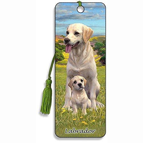 3D Dog Bookmark 'Labrador' - by Artgame