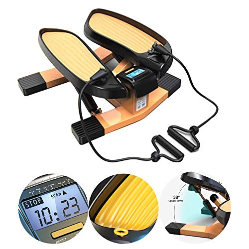 Great Deal! SXJC Exercise Machine Mini Stepper Fitness Twist Stepper Cross Trainer Twisting Machine ...