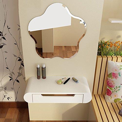 Tafel MEIDUO Dressing Met Spiegel Slaapkamer Dressoir Slaapkamer Dressoir Wit Computer Bureau 60cm+c Mirror