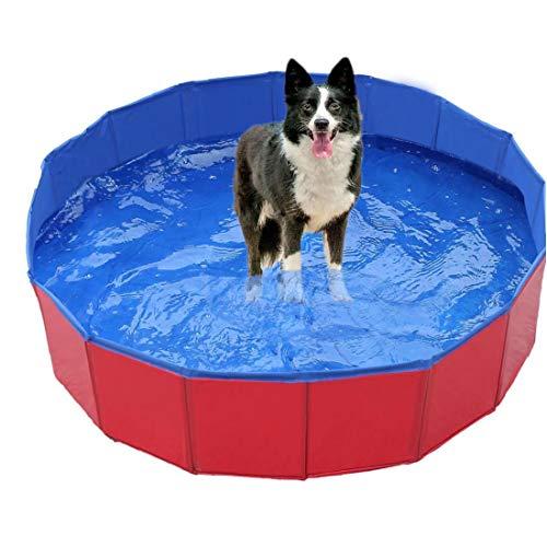YZLSM Plegable para Mascotas Piscina Portátil Perro Bañan La Tina Gatos Bañera Lavadora De Aire Mascota De La Fuente