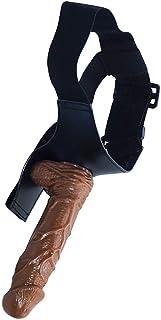 LXL20210118L para Adultos Ventosa Impermeable Mini Real Negra Giratorio Masajeador Personal Cuerpo