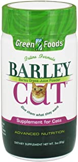 Greens Foods Barley Cat, 3-Ounce Bottles Powder (Pack Of 2)