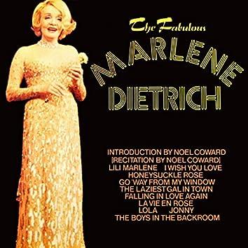 The Fabulous Marlene Dietrich