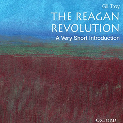 The Reagan Revolution audiobook cover art