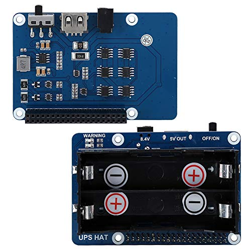 Power Supply Module, Stable Safe Computer Accessory for Raspberry Pi(British regulatory)