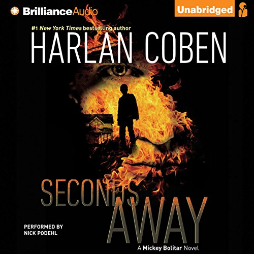 Seconds Away audiobook cover art