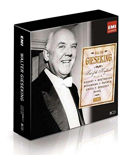 Icon - Walter Gieseking, Poet of the Keyboard Original recording remastered, Box set Edition by Gieseking, Walter (2009) Audio CD