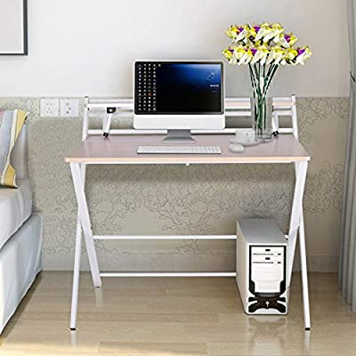 2Style Folding Desk for Small Space No Assembly 25022021122626