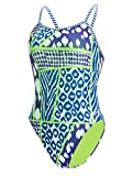 Dolfin Women's Uglies Prints Double Strap Back Swimsuit (Wild Thing, 32)
