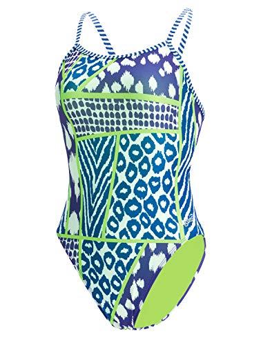 Dolfin Women's Uglies Prints Double Strap Back Swimsuit (Wild Thing, 28)