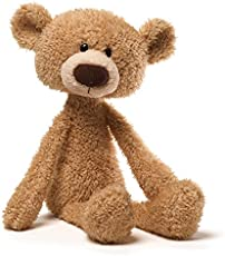 GUND Toothpick Teddy Bear Stuffed Animal Plush Beige, 15\""