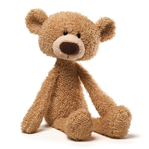 "GUND Toothpick Teddy Bear Stuffed Animal Plush Beige, 15"""