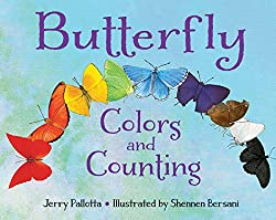 butterfly colors and counting - a book for kids