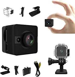 sq12 Waterproof 1080p hd Mini Camera cam Full Color Micro espia dvr Flexible with Motion Sensor