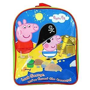 Peppa Pig - Mochila unisex para niños y niñas, diseño de personaje de Peppa Pig