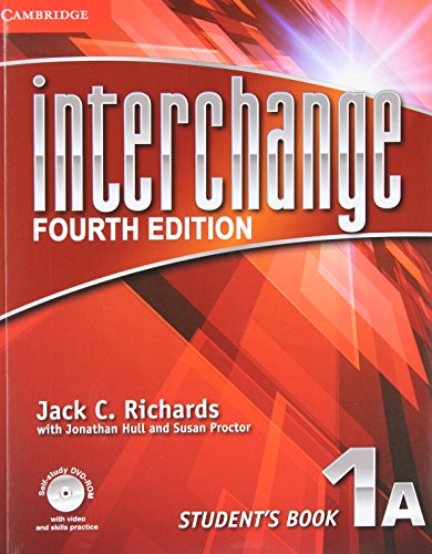 Interchange Level 1 Student's Book a with Self-Study DVD-ROM and Online Workbook a Pack