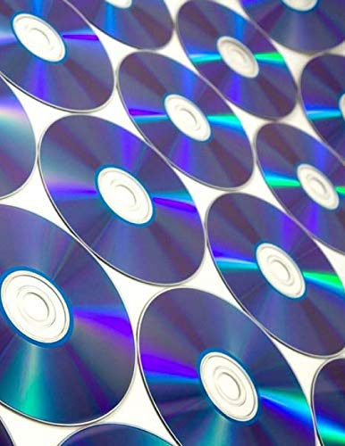 DVD Compact Disc Video Videos Movie Film Television Production Director Acting: Notebook Large Size 8.5 x 11 Ruled 150 Lined Softcover
