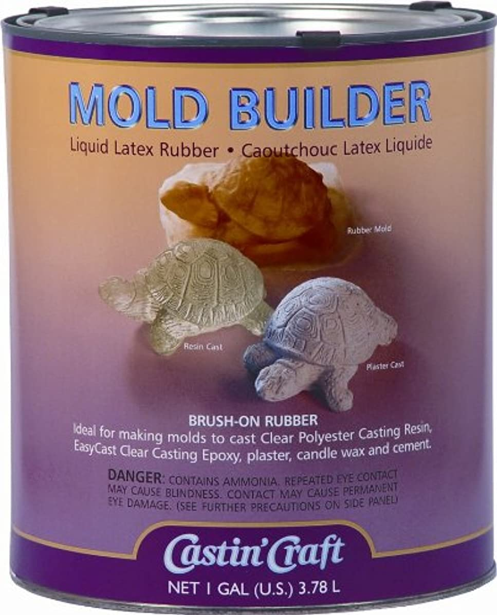 Environmental Technology 128-Ounce Casting' Craft Mold Builder, Natural Latex Rubber