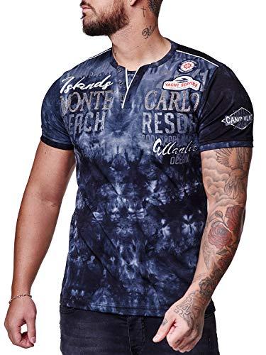 Herren T-Shirt Kurzarm Rundhals Monte Carlo Modell 3563 Schwarz L