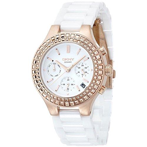 DKNY Damen-Armbanduhr Chronograph Quarz Keramik NY2225