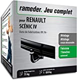 Rameder Attelage rotule démontable pour Renault SCÉNIC IV + Faisceau 7 Broches (151773-36987-1-FR)