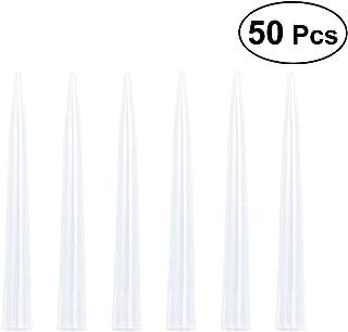ukcoco Reemplazo de puntas de pipeta líquido de Plástico 50pcs 10ml para laboratorio científico