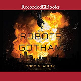 The Robots of Gotham audiobook cover art