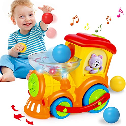 ACTRINIC Baby Toy 12-18 Months,Early Educational Electric Train with...