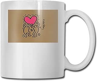 Keith Haring CUPS 11OZ Printed Design Funny Coffee Mug Tee Cup