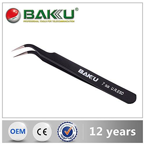 Baku Neueste Hot Verkauf Beste Qualität Isolierte 07412Bipolare Pinzette für Handy