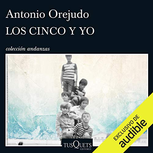 Los Cinco y yo audiobook cover art