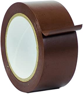 WOD CVT-536 Brown Vinyl Pinstriping Dance Floor Tape, Safety Marking Floor Splicing Tape (Also Available in Multiple Sizes & Colors): 2 in. wide x 36 yds. (Pack of 1)
