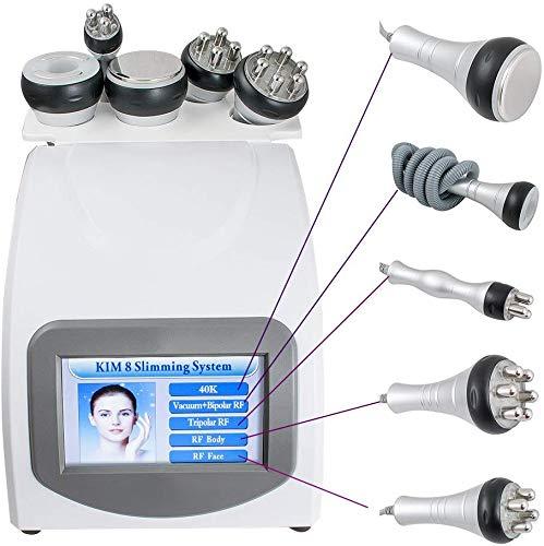 WUAZ Dégraissage Cellulite Réduire la Machine à Vide Spa Multipolaire 40K Cavitation Slim Spa Instrument de beauté Traitement