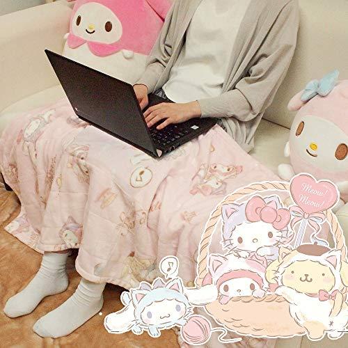 サンリオ(SANRIO) USBで暖かくなるマルチひざ掛け サンリオキャラクターズ 140×60cm SB-488-S 100220403901-01-01